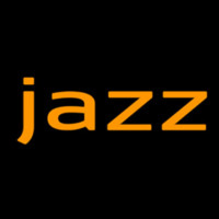 Jazz In Orange 2 Neonskylt