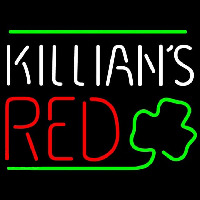 Killians Red Shamrock Beer Sign Neonskylt