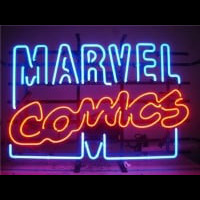 Marvel Comics Neonskylt