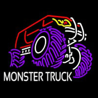 Monster Truck Neonskylt