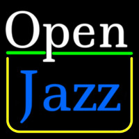 Open Jazz Neonskylt