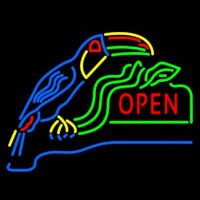 Open With Parrot Neonskylt