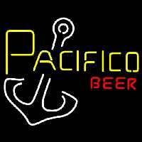 Pacifico Beer Anchor Neonskylt
