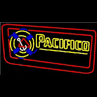 Pacifico Rope Inlaid Beer Sign Neonskylt