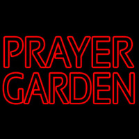 Prayer Garden Neonskylt