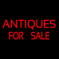 Red Antiques For Sale Neonskylt