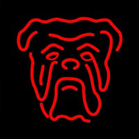 Red Dog Beer Sign Neonskylt
