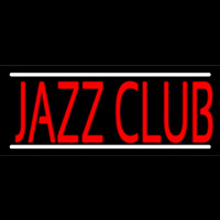 Red Jazz Club Neonskylt