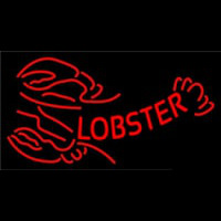 Red Lobster Logo Neonskylt