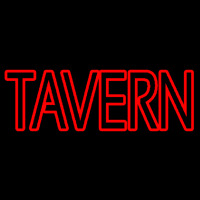 Red Tavern Neonskylt
