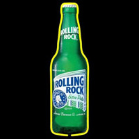 Rolling Rock Cincy Beer Sign Neonskylt
