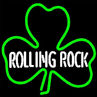 Rolling Tockgreen Clover Beer Sign Neonskylt
