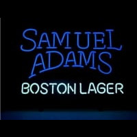 SAMUEL ADAMS BOSTON LAGER Neonskylt