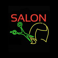 Salon Haircut Logo Neonskylt
