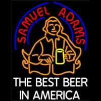 Sam Adams Americas Best Beer Neonskylt