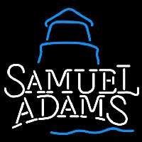 Samual Adams Day Lighthouse Beer Sign Neonskylt