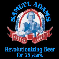 Samual Adams Revolutionizing Beer Sign Neonskylt