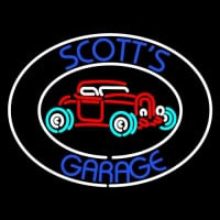 Scotts Garage Neonskylt
