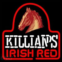 Sgeorge Killians Irish Red Horse Head Beer Sign Neonskylt