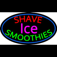Shave Ice N Smoothies Neonskylt