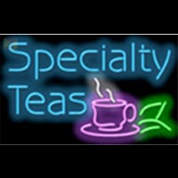 Specialty Teas Cafe Neonskylt