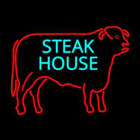 Steakhouse Logo Neonskylt