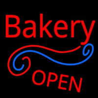 Stylish Bakery Open Neonskylt