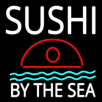 Sushi By The Sea Neonskylt