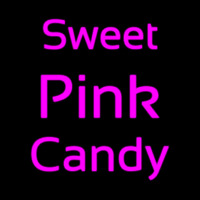 Sweet Pink Candy Neonskylt