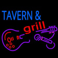 Tavern And Grill Guitar Neonskylt