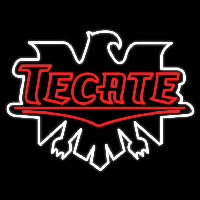 Tecate Real Neon Glass Tube Neonskylt