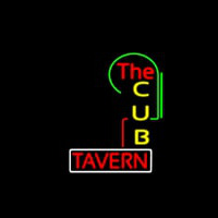 The Cub Tavern Neonskylt
