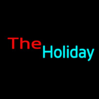The Holiday Neonskylt