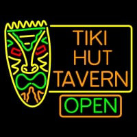 Tiki Hut Tavern Bar Neonskylt