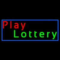 Play Lottery Neonskylt
