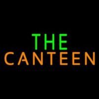 The Canteen Neonskylt
